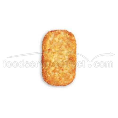 Simplot 101 Hash Brown Potato Patty, 2.25 Ounce -- 240 per case. (2.25 Ounce Units)