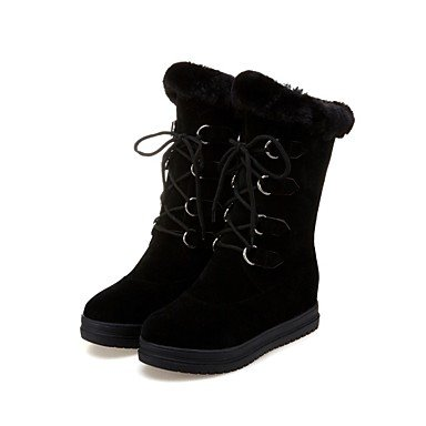 Boots RTRY US6 Boots Block Shoes Ankle Boots Heel CN36 EU36 Fashion Customized Combat Riding Boots Women'S Soles Winter Materials Snow Boots Strap Light UK4 R7RFw