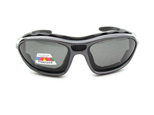 con Vasos Segeln Surfsportbrille Sf Softbag 3 Polarizadas Gafas Polarizadas Kitesurf Alpland RqIXvX