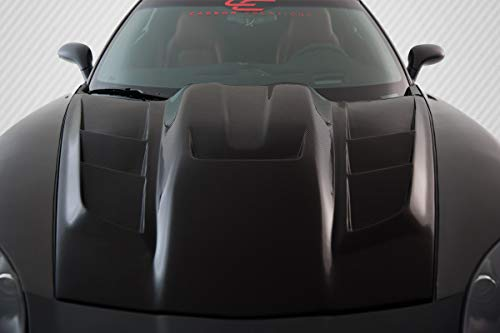 (Carbon Creations Replacement for 2005-2013 Chevrolet Corvette C6 ZR Edition 2 Hood - 1)