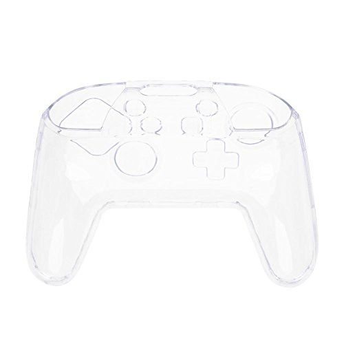 Clear Transparent PC Switch Case Cover for Nintendo Controller Gamepad
