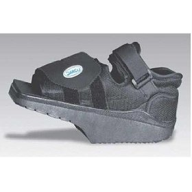 Alimed Post-Op Shoe Darco OrthoWedge Large Black Male by AliMed