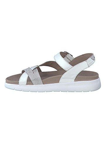 Sandalette ODELIA O3093WY1 Bianco MEPHISTO Damen 68twc4