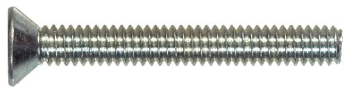 The Hillman Group 101077 10-24-Inch x 3/4-Inch Flat Head Phillips Machine Screw, - Flat 3/4 Phillips Machine Head