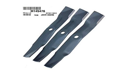 John Deere Original Equipment 3 Mower Blades #M145476(3)