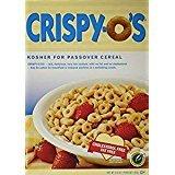 Crispy-O\'s Kosher For Passover Cereal 6.6 Oz. Pack Of 3.