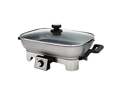stainless steel skillet 16 inch - 8
