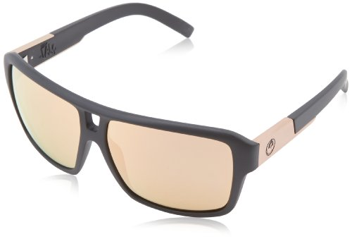 Dragon Sunglasses - The Jam / Frame: Matte Black Lens: Rose Gold Ion (Dragon Jam Lenses)
