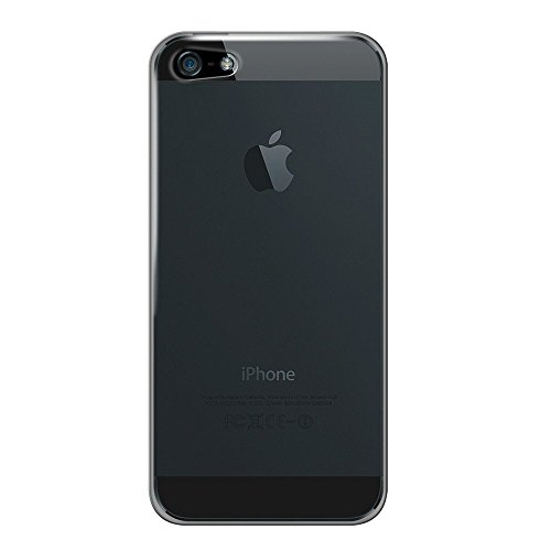 Katinkas KATIP51157 Hard Cover für Apple iPhone 5 Ultra klar/schwarz
