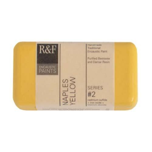 R&F Encaustic 40ml Paint, Naples Yellow