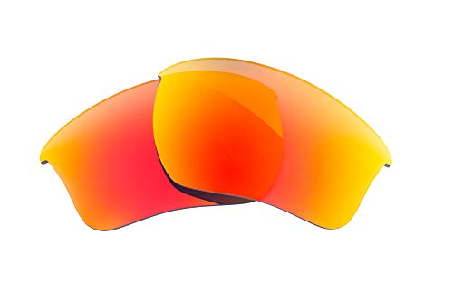 1272ea6ddf62c LenzFlip Lenses Compatible with Oakley HALF JACKET 2.0 XL - Fire Red ...