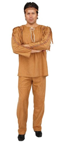Indian Brave Adult Costume - Mens X-Large 46-48 (Tonto Costume For Adults)