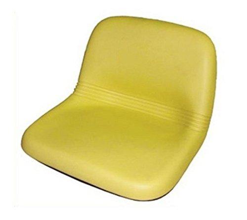 AM115813 Yellow High Back Seat For John Deere LX188 LX186 LX178 LX176 LX173 Aftermarket John Deere