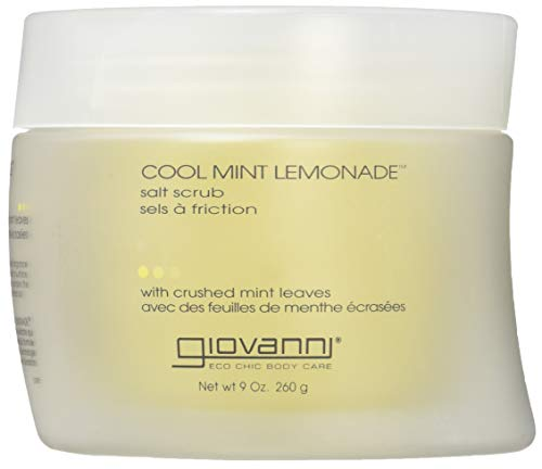 Mint Salt Scrub - Giovanni Salt Scrub, Cool Mint Lemonade, 9 Ounce (260 g)
