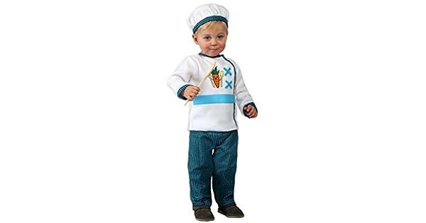 Amazon.com: Disfraz de cocinero, bebé T. 6 – 12: Toys & Games