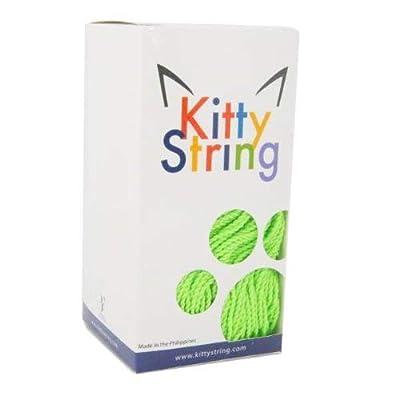 Kitty String Yo-Yo String 100 Pack - Normal - Neon Green: Toys & Games