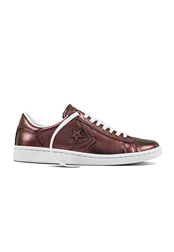 Converse Converse Pro Leather Lp - Donna Moda Donna Sneakers 558031c_10.5 - Damasco Reale / Bianco / Bianco