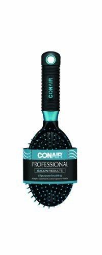 Conair Pro Hair Brush With Nylon Bristles, Oval Cushion