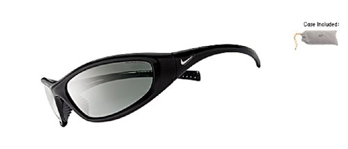 Nike Tarj Rd Black Sunglasses with Grey Lens ()