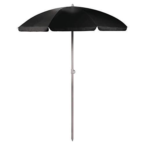(ONIVA - a Picnic Time Brand Outdoor Canopy Sunshade Umbrella 5.5', Black)