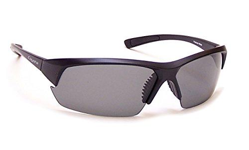 Coyote Eyewear Mako Polarized Street & Sport Sunglasses, Matte Black - Sunglasses Mako