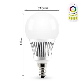 tkstar-rgb LED luz bombilla inteligente vida/inteligente luz con mando a distancia,