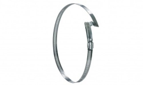 Hi-Tech Duravent Stainless Steel Hose Clamp, 1/2