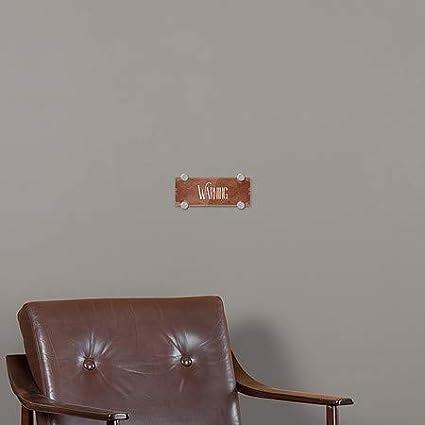 Victorian Card Premium Acrylic Sign Warning CGSignLab 8x3