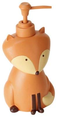 Saturday Knight Novelty Bath with Fox Bear & Skunk FOREST FRIENDS Lotion Dispenser