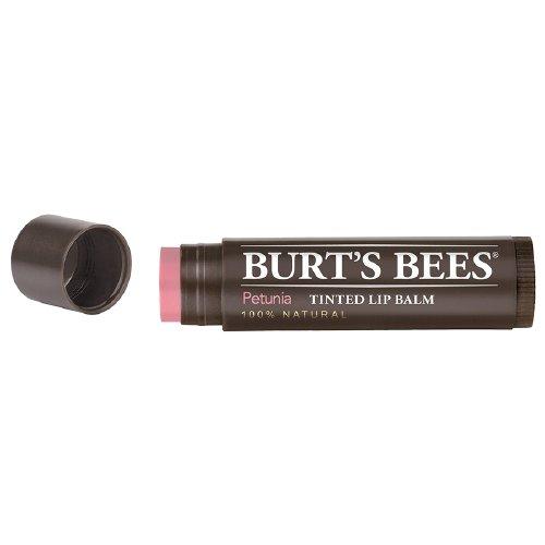 Burts Lip Balm Tinted Pet Size .15z Burts Lip Balm Tinted Petunia .15z