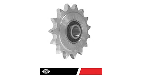 Zinc Plated 2.98 Outer Diameter 133776 Idler Sprockets: 5//8 Bore 17 Teeth 40 Chain Size