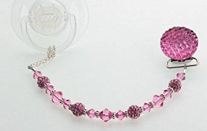 Perlas de Swarovski Crystal Sueño lujo Magenta acolchada ...
