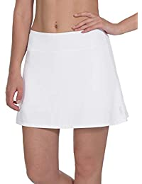 d63cff2acd Women's Active Athletic Skorts Workout Running Tennis Golf Skirt with  Pocket, Size S - XL