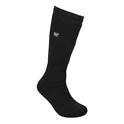Mens Bigfoot Original Thermal Heat Holders Socks 13-15 Us Black