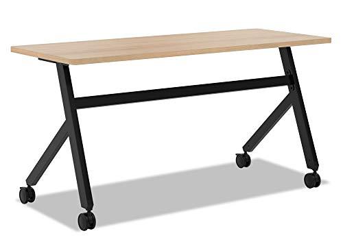 (HON Assemble Fixed Base Multi-Purpose Table, 48-Inch, Wheat/Black (HBMPT4824X))