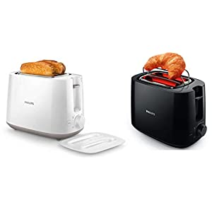 PHILIPS Hd2582/00, Hd2583/90 830W, 600W 2-Slice Pop-Up Toaster with 2 In 1 Toaster And Grill
