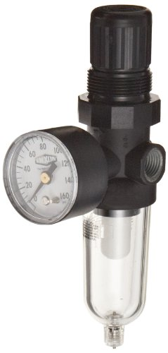 Dixon Valve F07-200M Pack of 5 pcs Series-1 1//4 Manual Drain Miniature Filter