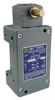 Square D 9007CR53B2 Heavy Duty NEMA Limit Switch for Hazardous Locations, 1 NO + 1 NC Contacts, Std. Rotary Head, CW/CCW Operation