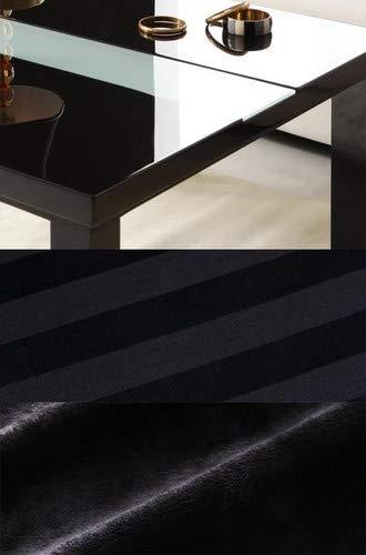 グロスブラック 布団サイレントブラック こたつ4点セット(テーブル+掛敷布団+布団カバー) 鏡面仕上 正方形(75×75cm) アーバンモダンデザインこたつ VADIT CFK バディット シーエフケー【品】   B07J5214SD