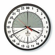 24 Hour Wall Clock (24 Hour Dial Clock)