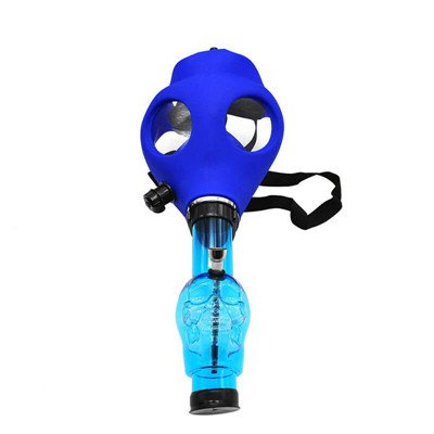 Cool Rubber Gas Mask Parts for Smoking - Random Color (Gas Mask Water Pipe)