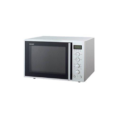 Sharp R-939IN - Microondas (40 L, 900 W, Plata, 1300 W, 36,2 cm ...