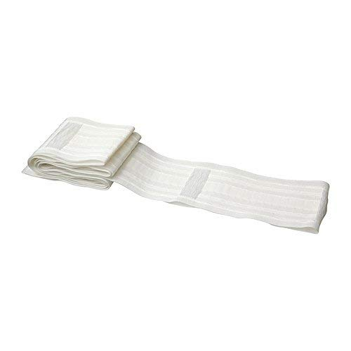 IKEA Kronill Gathering Heading Tape for Making Pleated Curtains, 3 Inch, White Polyester 802.969.55