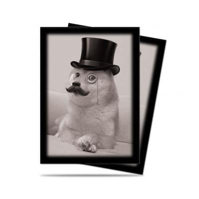 """Official Doge """"Such Class, Much Fancy"""" Deck Protector sleeves 50 count pack"""