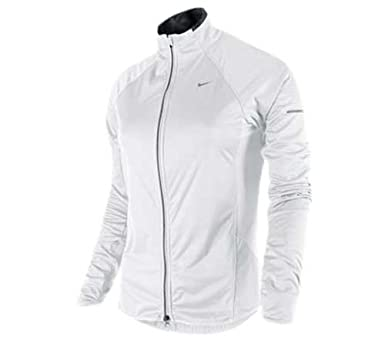 07649688d615 Nike element shield dri fit stay warm womens full zip running jacket  training top white 425074