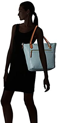 Fossil Fiona Tote Steel Blue