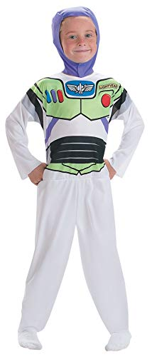(Boy's Toy Story Buzz Lightyear Outfit Funny Theme Child Halloween Costume, Child S (4-6))