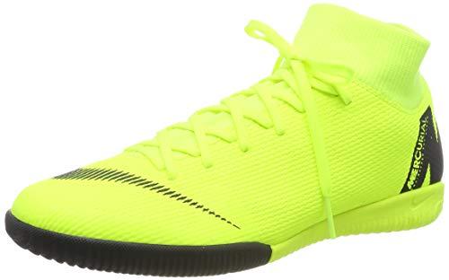 Nike Men's Soccer MercurialX Superfly VI Academy Indoor Shoes (9 D US)