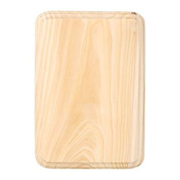Bulk Buy: Darice DIY Crafts Wood Plaque Rectangle 5 x 7 inches (6-Pack) 9149-10 (Plaque Unfinished Craft)