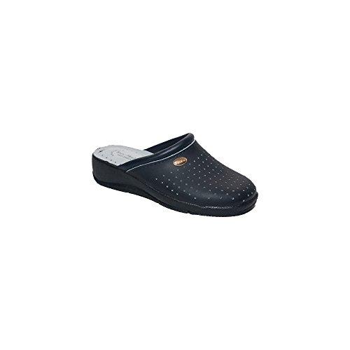 San Malo Kvinna Syntetiskt Läder Loafer Flats Blå